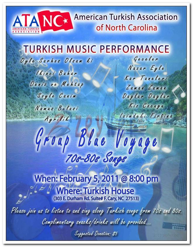 Blue Voyage Event