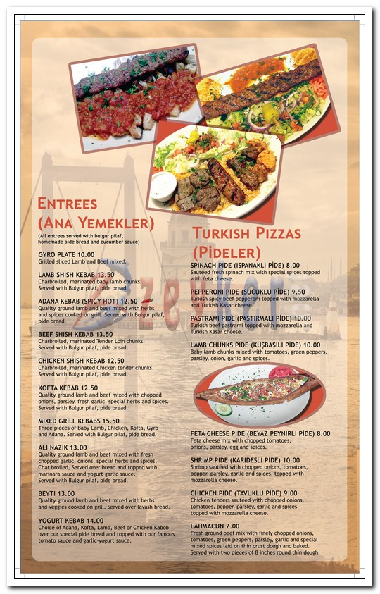 Bosphorus Restaurant - Dinner Menu_Page3