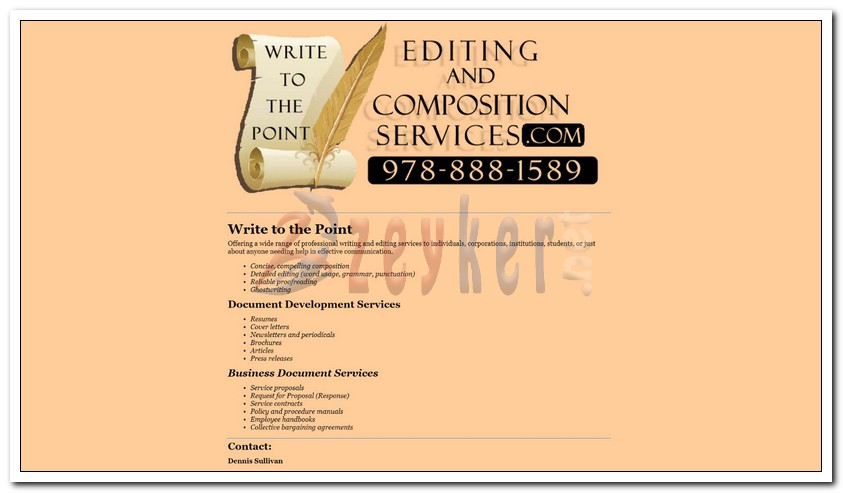 Editing And Composition Services