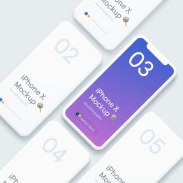 Iphone X Mock Up